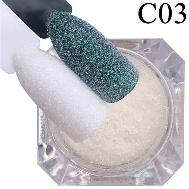 Zko 1 garrafa sereia brilhando prego açúcar glitter pó holográfico artesanato cor decoração do prego manicure