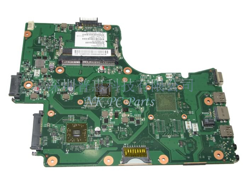 V000225120 Main Board For Toshiba Satellite C655D Laptop Motherboard / System Board C50 CPU DDR3