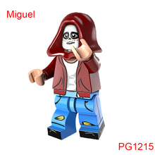 Miguel Building Blocks Ector The Day Of The Dead Coco Movie Super Heroes Star Wars DIY Dolls Christmas Toys Hobbies Pg1215