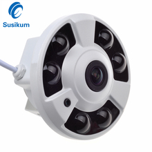 2MP 360 Degree Panoramic Camera 6Pcs Array leds IR Distance 40M 1080P Dome Infrared Security Camera AHD With OSD Menu
