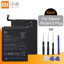 цена Xiao Mi Original BN44 Replacement Phone Battery High Capacity 3900mAh For Xiaomi Redmi 5 Plus 5P Genuine Li-ion Battery Tools