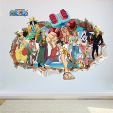 One Piece 3D Break Wall Poster