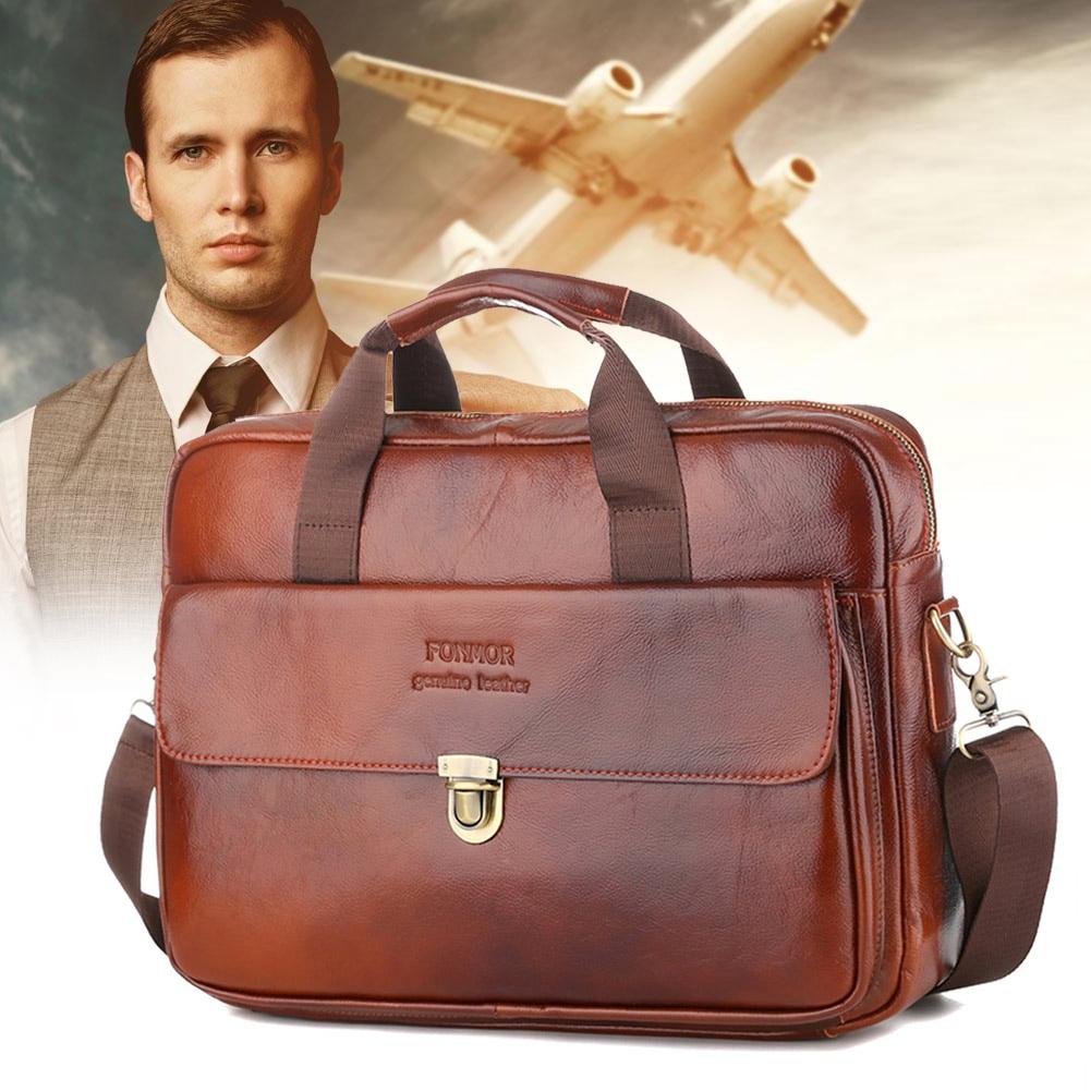 2019 New Man Leather Retro Handbag Business Shoulder Bag Briefcase Messenger WML992019 New Man Leather Retro Handbag Business Shoulder Bag Briefcase Messenger WML99
