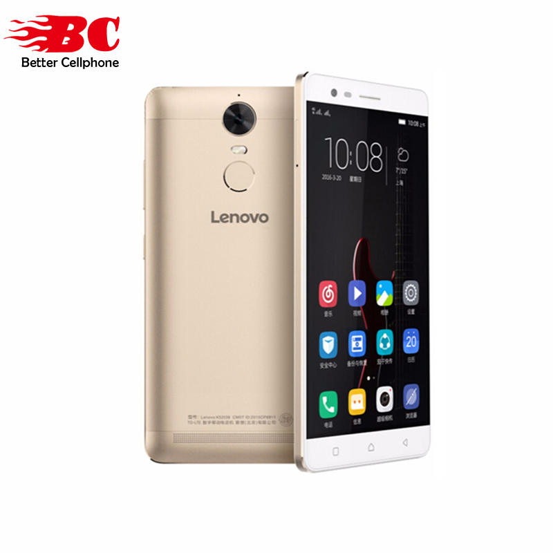 "Original Lenovo Lemon K5 Note 5.5"" 1920x1080 Android 6.0 Mobile Phone MTK Helio P10 Octa Core 64bit 1.8GHz 3GB+32GB 13MP 3500mAh"