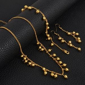 Anniyo Beads Necklace Earrings