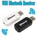 Hot Portátil Mini USB Sem Fio Bluetooth Receptor de Música Estéreo com 3.5mm Jack Cabo De Áudio para telefones móveis iPhone