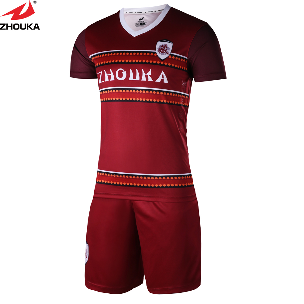 1defa06097c 2019 Match sublimated Sportswear Adult Kids Team Custom Soccer Jerseys  Training youth football shirt maker soccer jersey. Anniversary Sale