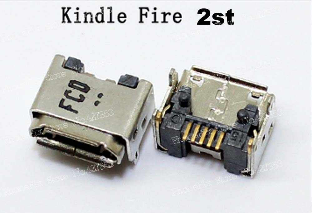 USB Charging Port Connector DC Power Jack For Amazon Kindle Fire 1nd Gen  2nd Gen 7inch HD7 HD8 9 Kindel paper white