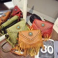 Мода винтажном стиле элегантное кисточкой сумка сумка мешочки 2016 весна женская сумочка ретро-техническое девушка сумка 252