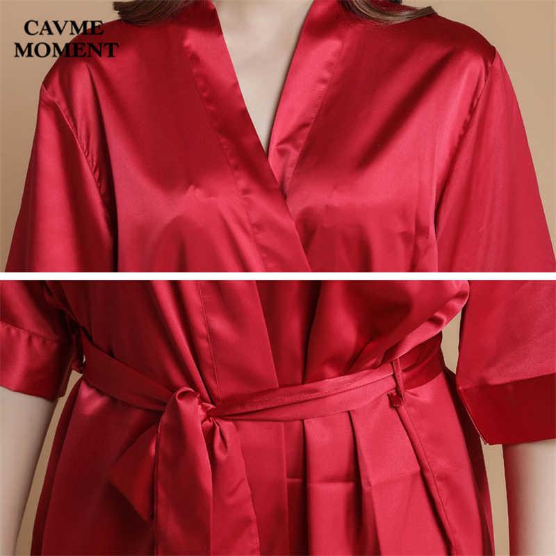 CAVME カスタムローブ女性の着物サテンローブ結婚式の花嫁介添人ローブギフト着物ファム夏パジャマバスローブ