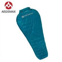Спальный мешок aegismax для взрослых ульсветильник пуховый нейлоновый