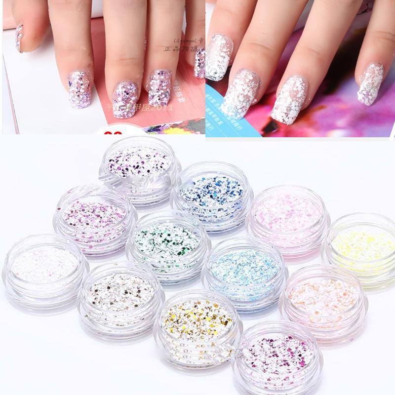 Buy free shipping 12 pot 3d nail art for 3d acrylic nail art decoration