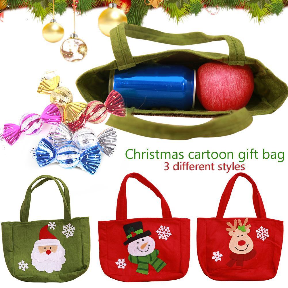 New Christmas Decoration Supplies Christmas Gift Bag Santa C