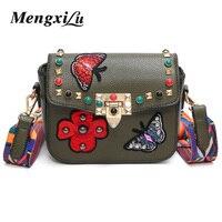MENGXILU Fashion Messenger Bags Luxury Handbags Women Bags Designer Bags Handbags Women Famous Brands Crossbody Bags
