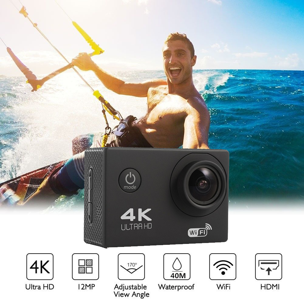 F600 F600R 4K Wifi Action Kamera 16MP 170D Sport DV 30M 1080P Gehen Wasserdicht Pro Extreme Sport video Bike Helm Auto Cam Dvr