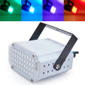 Mini Sound Control 36RGB SMD5050 LED Disco Party DJ Bar Light Music Show Strobe Projector Stage Lighting Effect