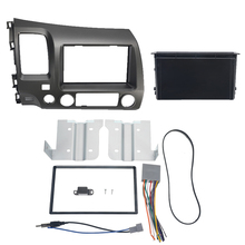 1 компл.. Автомобильный Радио стерео 2 Din Taupe Dash комплект Мультимедиа Видео плеер навигация gps рамка Fascias для Honda Civic 2006-2011