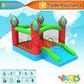 2015 YARD home use mini castillo inflable casa de la despedida jumper castillo hinchable con tobogán envío libre de dhl