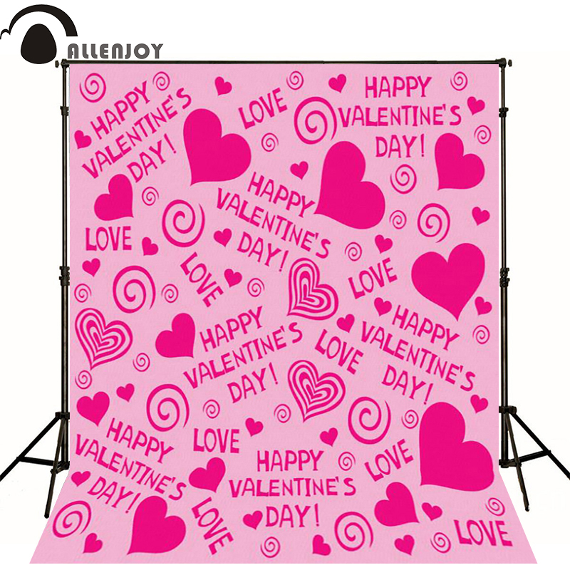 vinyl backdrops for photography 600cm*300cm Valentine's Day photography background Love pink love ZJ 10x10ft vinyl backdrops for photography valentine day photography background qr217