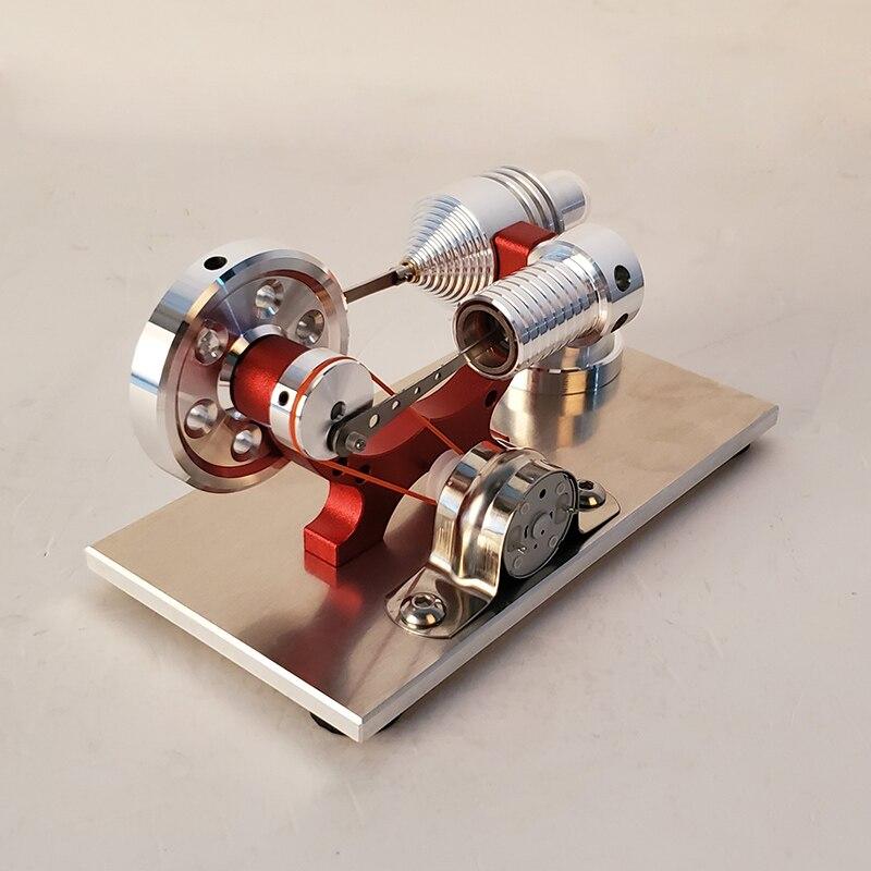Stirling motor gerador micro motor modelo de