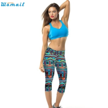 Premium Green Yoga Running Pants Gifts Woman Sports High Waist Fitness Yoga Jogging Sport Pants Printed Stretch Cropped Leggings