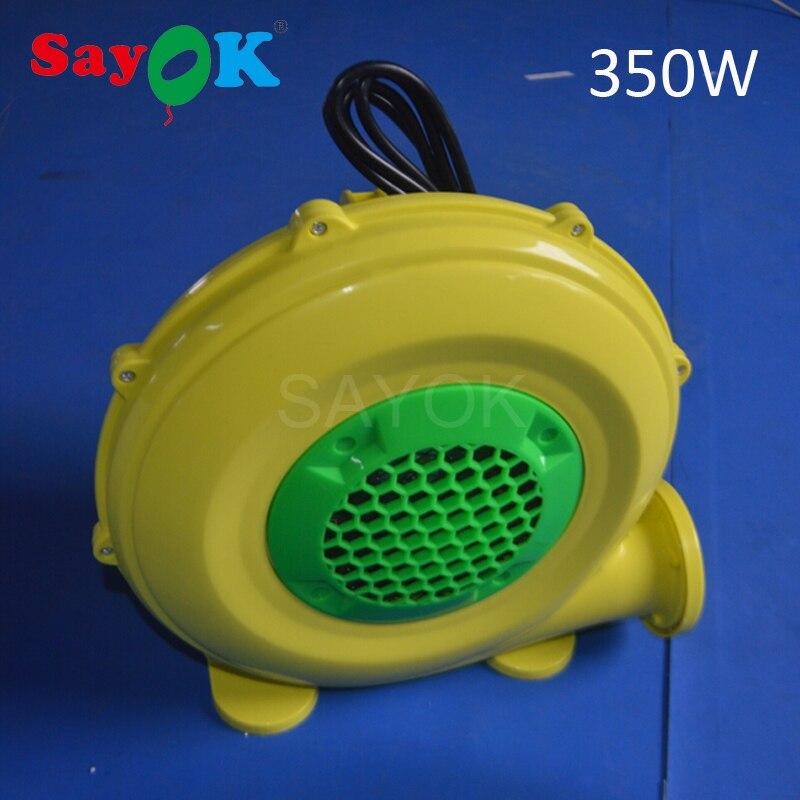 Plastic electric operated air blower inflatable fan 350W 450W 750W 950W 1100W 1500W
