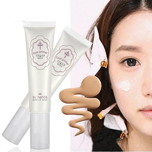 New arrival Charm Face Cosmetic Moisture Foundation font b Primer b font Cream Liquid Smooth Concealer