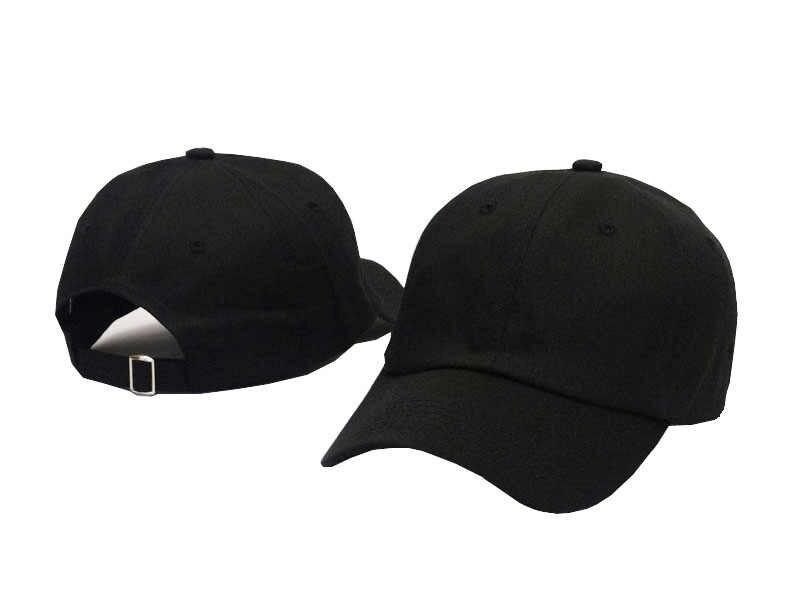 高品質綿調整可能なソリッドカラーの野球帽帽子ユニセックスカップルキャップファッションレジャーブランドお父さん帽子スナップバックキャップ