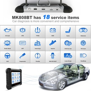 Image 2 - Autel MK808BT OBD2 Scanner Diagnostic Auto Tool OBD 2 Automotive Code Reader ODB2 Key Programmer Diagnosis Better To Launch X431