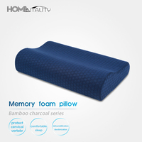 Bamboo Charcoal Memory Foam Pillow Core Magnetic Therapy Neck Cervical Vertebra Orthopedics Bed Pillows Massage Sleeping