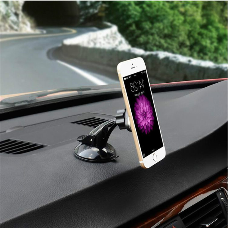 WRUMAVA Magnetic Car Phone Holder Mount Dashboard Windshield Car Cradle with Sticky Suction Cup for iPhone Samsung GPS Devices in Phone Holders Stands from Cellphones Telecommunications