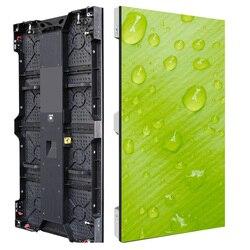 P3.91 p4.81 pantalla led interior 500x1000mm Pantalla de escenario de gabinete de aluminio fundido a presión para eventos