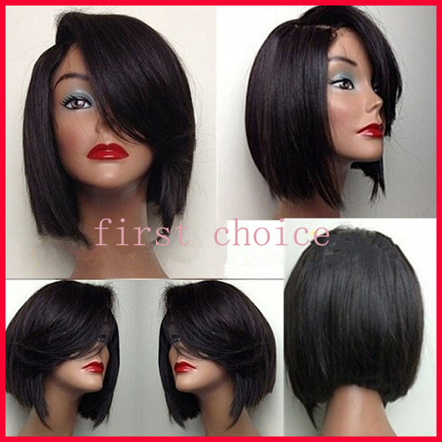 Superb Aliexpress Com Buy Top Quality Short Bob Style Hair Lace Front Short Hairstyles Gunalazisus