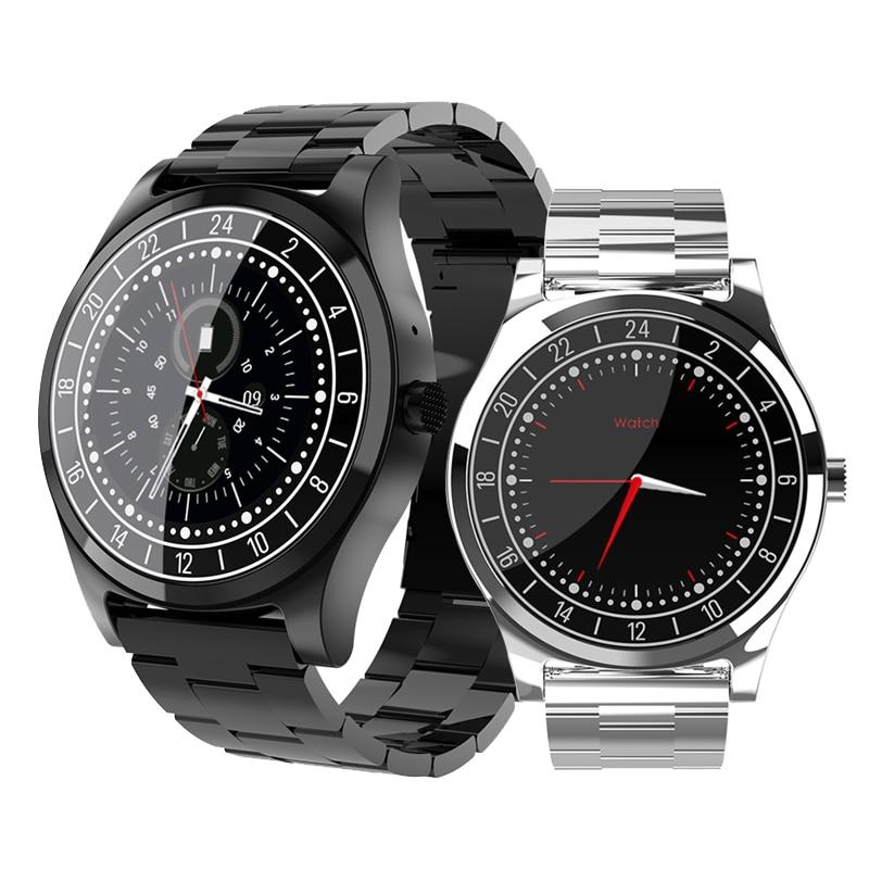 RUIJIE Men Business Bluetooth Smart Watch Wristwatch Heart Rate Monitor Blood Pressure Fitness Tracker SmartWatch VS K88H KW88 цены онлайн