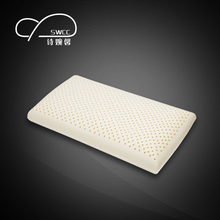 SWCC 65x40x14 natural latex pillow Protection Cervical Health Memory Pillow Natural Rubber(China)