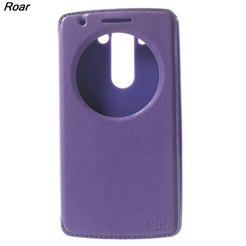 For LG G3 S Case Original Roar <font><b>Korea</b></font> Noble View Flip Leather <font><b>Mobile</b></font> <font><b>Phone</b></font> Case Cover for LG G3 S D722 D725 G3 Mini G3 Beat G3S