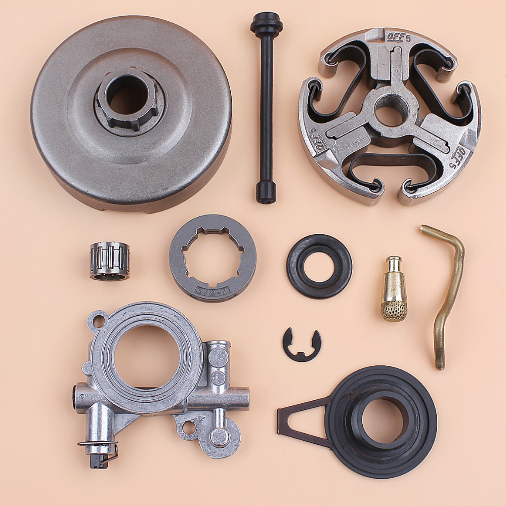 Tools : Clutch Drum Cage Bearing Oil Pump Worm Gear For HUSQVARNA 365 362 371 372 372XP Chainsaw 503 93 24-71 503 43 20-01