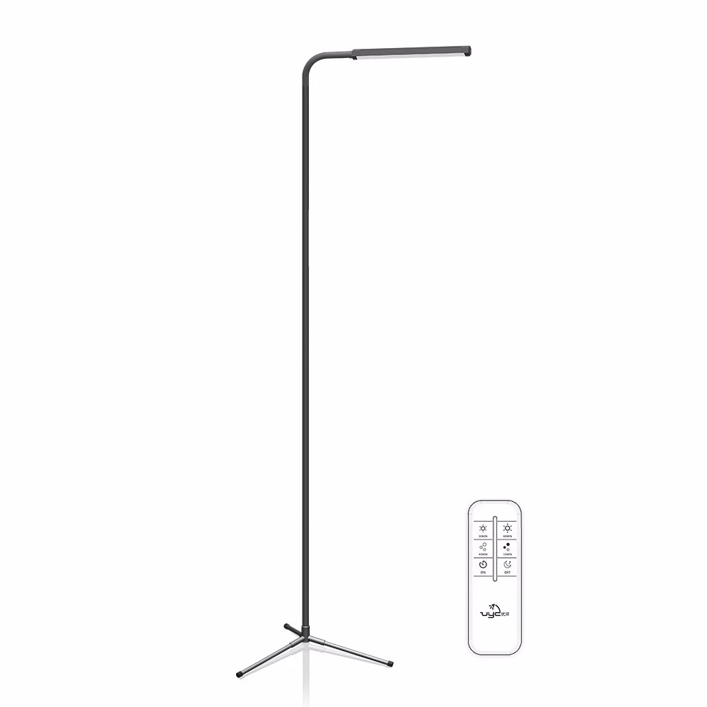 F9 Modern Touch LED Standing Floor Lamp Reading for Living Room Bedroom with Remote Control 12