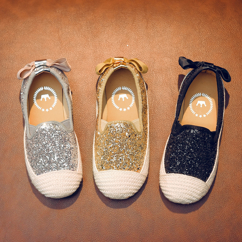 Spring Autumn New Child Casual Shoes Leisure Sequins Princess Girls Shoes kids sports shoes for student 3T 4T 5T 6T 7T 8T 14T in Sneakers from Mother Kids