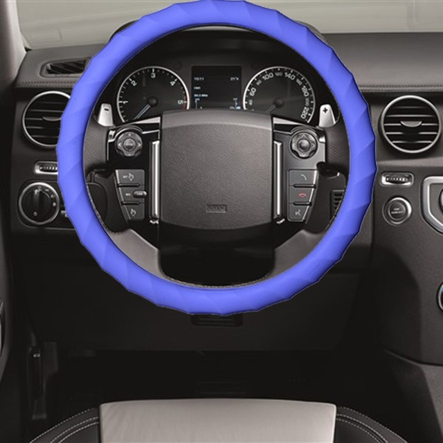 Car Steering Wheel Cover  Skidproof Silicone Soft Car cover  on the steering wheel Car accessories Hot Sale
