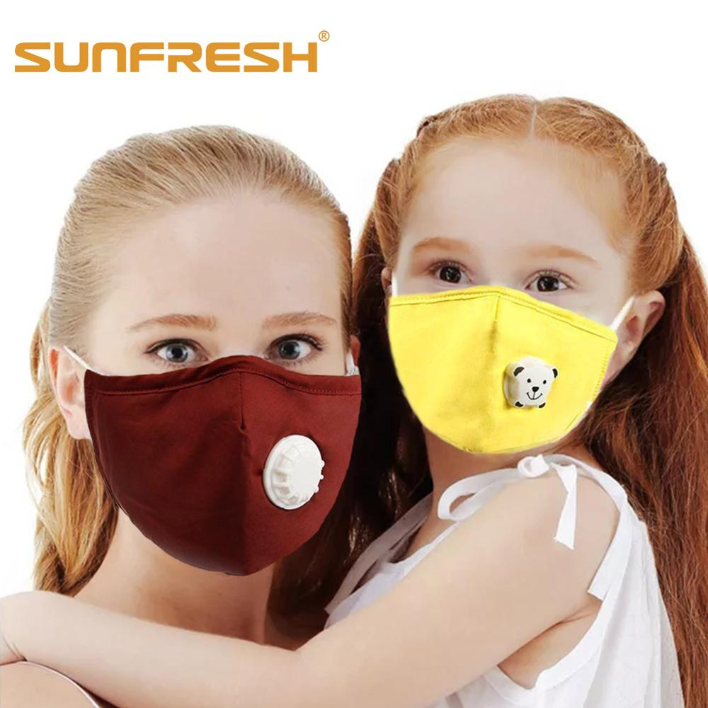 Parent-child Dust Mask  Washable Cotton Anti Dust Anti Pollution Face Shield Wind Proof Mouth Mask Mouth Face Mask Maske