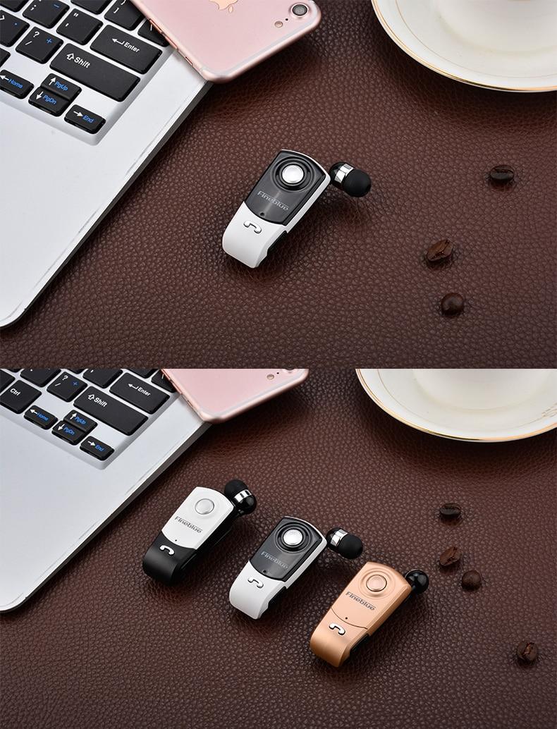 Fineblue F960 Business Bluetooth Headset Retractable Wireless Earphone