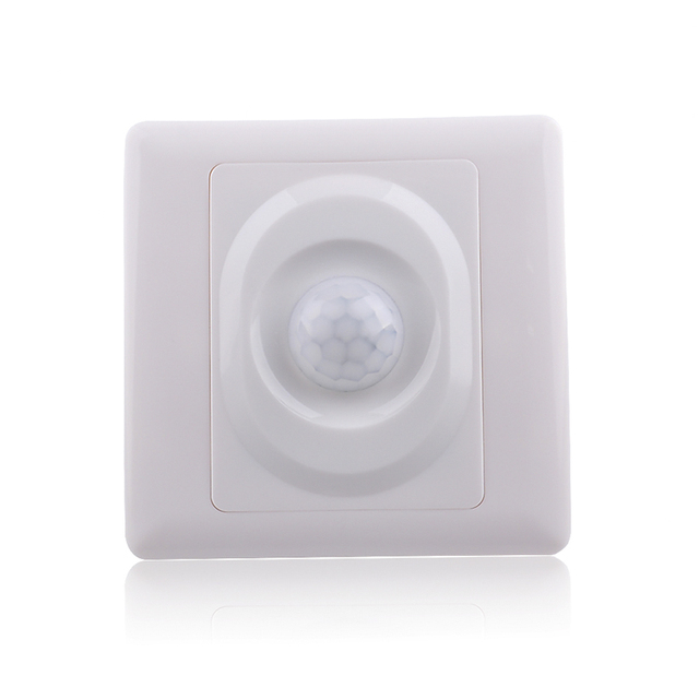110v 220v ac time delay adjustable ambient light adjustable wall 110v 220v ac time delay adjustable ambient light adjustable wall mount pir motion sensor light switch mozeypictures Choice Image