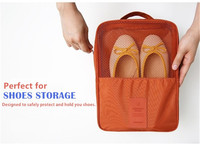 2017 Shoes Storage Pouch Organization Bag Version 2 Waterproof Portable Travel Slippers Sneakers Carry Bag For