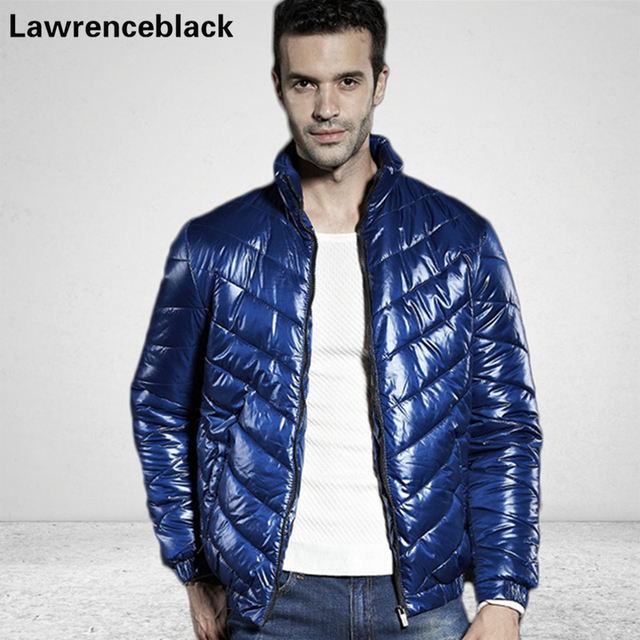 Winter Mens Down Jackets Solid Cotton Coat Male Fashion Quality Warm Zipper Parkas Padded Outwear Brand Campera Plus size 5XL 65