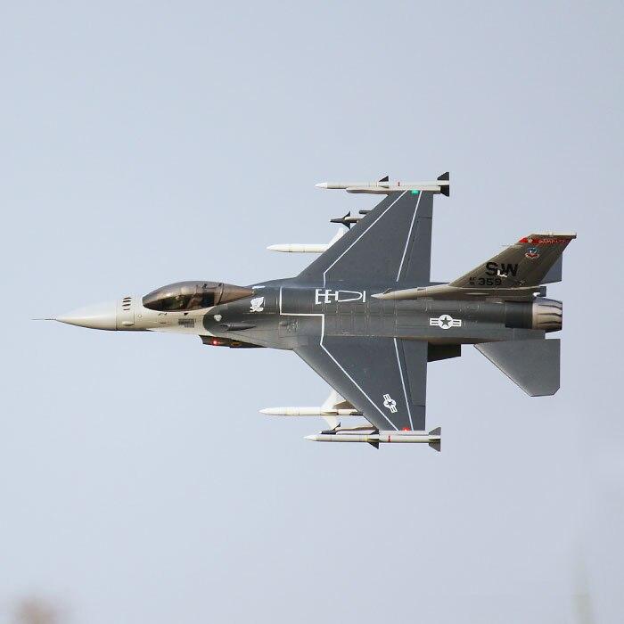 Электрический радиоуправляемый самолет окончательного Би F16 90 мм F-16 боевые Faclon Jet PNP