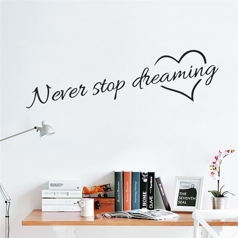 Never Stop Dreaming Wall Sticker 6