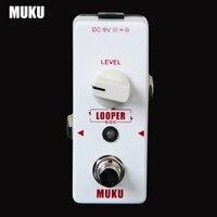 Looper Easy Simple Straight Loop Recording Pedal Maximum Recording Limit 15 Minutes No Overdub Limit Pedal