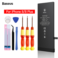 Baseus Mobile Phone Battery For iPhone 8 Plus 8plus Original Batterie Replacement High Capacity 2200 3400mAh Bateria For iPhone8