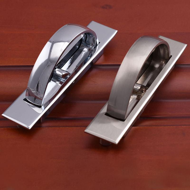 1Pcs Hot sale Cabinet Hidden Handles Zinc alloy Invisible